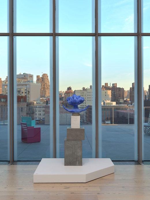 "Arlene Shechet Installation view of ""Making Knowing: Craft in Art, 1950–2019,"" Whitney Museum of American Art, New York (November 22, 2019–January 2021"