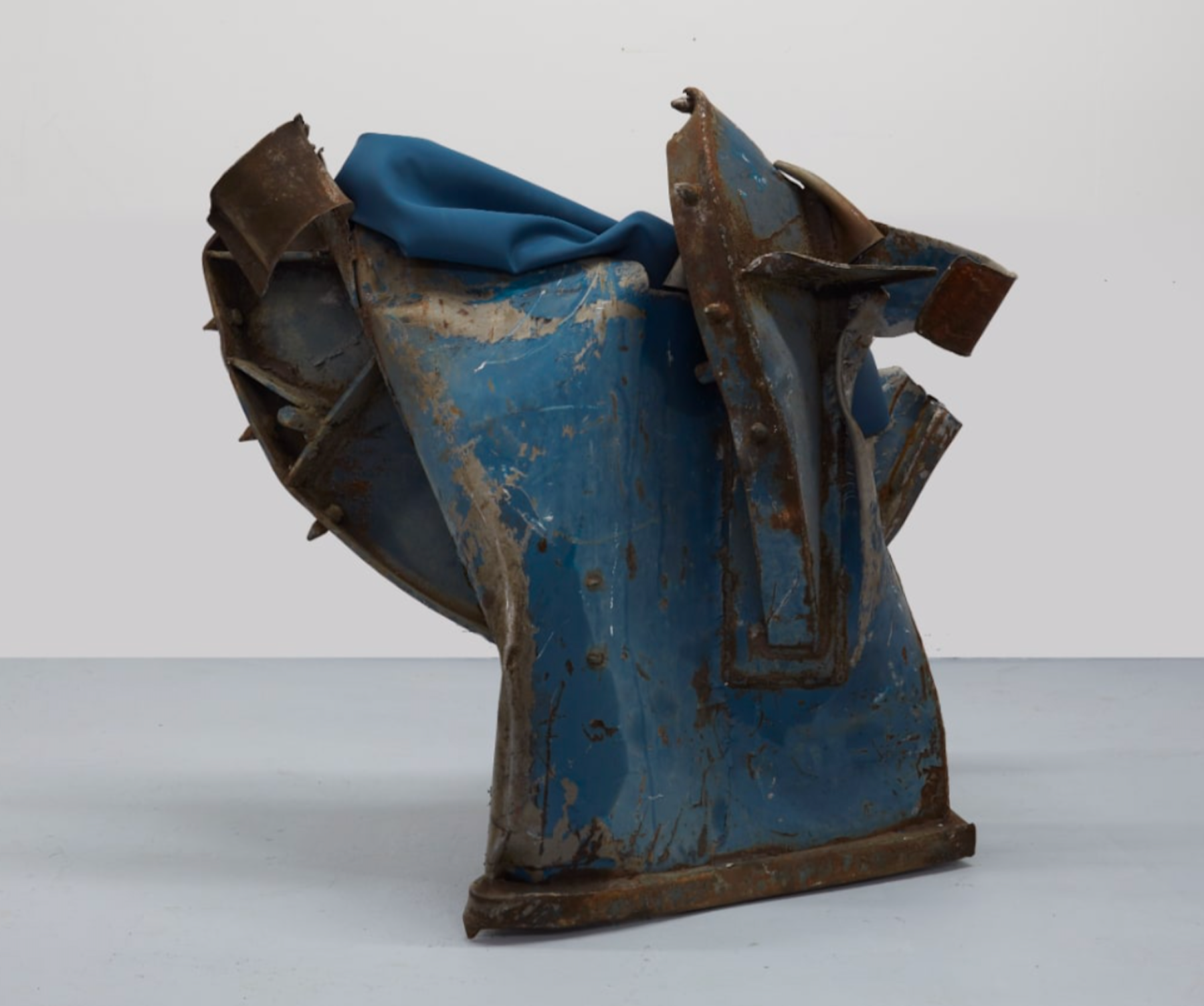"""Kennedy Yanko """"SKY,"""" 2020 Paint skin and metal 48 x 53 x 29"""" [HxWxD] (121.92 x 134.62 x 73.66 cm) Inventory #YAN1005 Courtesy of the artist and Vielmetter Los Angeles Photo credit: Martin Parsekian"""